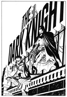 Batman and Robin by Dave Johnson