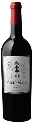 Middle Sister Rebel Red Blend:    smells like...ripe red and dark berry fruits like plum, blueberry and blackberry. Sassy dash of black and white pepper with a dollop of creme de cassis.    tastes like... a huge mouthful of ripe summer berries. The fruit goes on and on, ending in a luxurious finish.