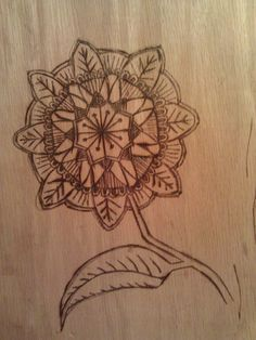 A unique wood burning project.  The subject matter was derived from Peter Draws Long Board project. May be an awesome idea for a cutting board graphic.