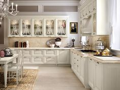 Decapé kitchen with handles PANTHEON | Kitchen by Cucine Lube ...