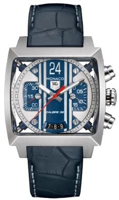 TAG Heuer | Review NEW TAG HEUER MONACO 24 STEVE MCQUEEN CHRONOGRAPH MENS WATCH CAL5111.FC6299 By TAG Heuer