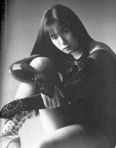 Japanese wrestling legend Manami Toyota http://hubpages.com/sports/Japanese-Women-Wrestling
