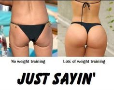 Girls Who Squat: Before And After http://clarasteventh.com/girls-who-squat-before-and-after-4