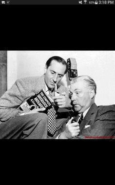 Basil Rathbone and Nigel Bruce - 1940s NBC Radio