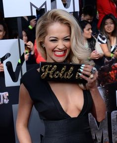2014: The Year in Entertainment - Photos - UPI.comActress Rita Ora arrives for The MTV Movie Awards at Nokia Theatre L.A. Live in Los Angeles, California on April 13, 2014. UPI/Jim Ruymen  Read more: http://www.upi.com/News_Photos/2014/2014-The-Year-in-Entertainment/fp/8740/#ixzz3LKr6oRp0