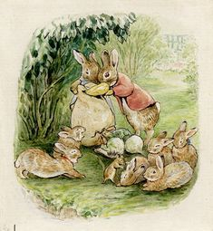Then said Almitra, Speak to us of Love. — pagewoman:     The Tale of The Flopsy Bunnies    ...
