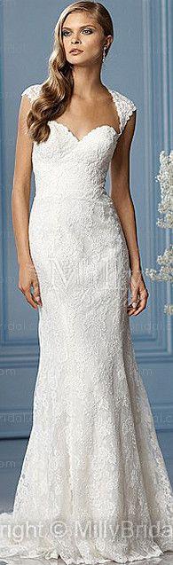 classic lace #wedding dress