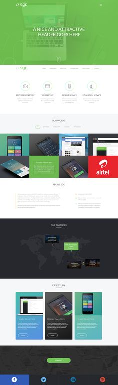 Landing Page by Atique