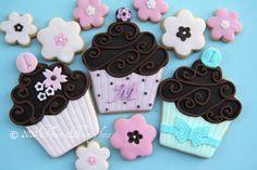 Milly's Birthday Cupcake Cookies by Three Honeybees, via Flickr