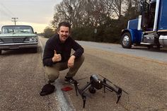 Ethan Hawke's forthcoming biopic Blaze sees the actor make the move from center stage to the director's chair. The movie tells the story of the late country and western artist Blaze Foley and is being filmed in almost entirely with DJI products. T...