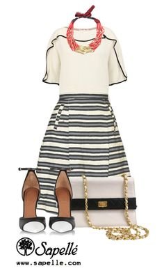 """""""See. Like. Share. www.sapelle.com"""" by sapellestyle ❤ liked on Polyvore featuring See by Chloé, Chanel and Givenchy"""