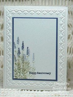 Herb Expression Anniversary by bon2stamp - Cards and Paper Crafts at Splitcoaststampers