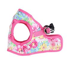 Puppia Authentic Puppia Spring Garden Harness B Pink Small >>> Want additional info? Click on the image.