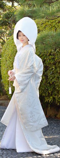 japanese traditional wedding kimono SHIROMUKU