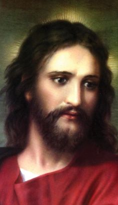 Serenity Prayer Face of Jesus Christ