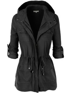 LE3NO Womens Lightweight Military Anorak Jacket with Hoodie repin & like. Check out Noelito Flow music. Noel. Thanks https://www.twitter.com/noelitoflow https://www.youtube.com/user/Noelitoflow