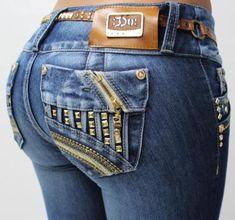 Butt lift Colombian jeans