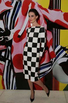 Erin OConnor en Louis Vuitton
