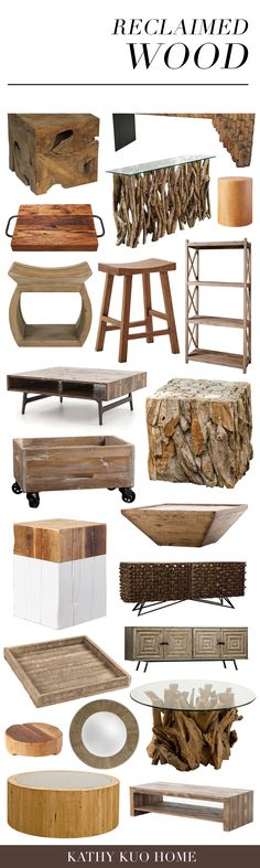Adding reclaimed wood to your home is creative way to give your interiors a rustic and comfortable feel. Click to shop! Modern Farmhouse Design, Farmhouse Interior, Rustic Farmhouse, White Furniture, Rustic Furniture, Rustic Chic, Rustic Style, Interior Architecture, Interior Design