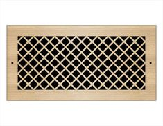 Laser Cut Wood Grilles | Pacific Register Company