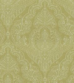 Upholstery Fabric-Waverly Queen'S Lace Endive