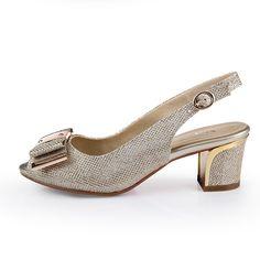 Encontrar Más Sandalias De Las Información Acerca 2016 Talones Cuadrados Oficina Casual Oady Womens Summer Shoescasual Officeoffice
