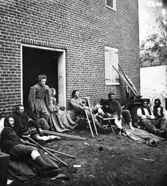 CIVIL WAR MEDICAL RECORDS| During the American Civil War of 1861-1865, the governments issued uniforms both Confederate and Union sides which included socks, undershorts.  #CivilWar