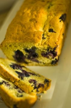 Dairy, Egg and Nut Free Blueberry Bread