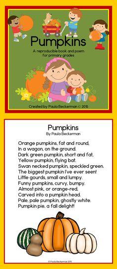 Pumpkins Poem and Book