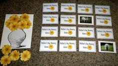 LDS ACTIVITY IDEAS: Primary Singing Time: Mother's Day Memory Game