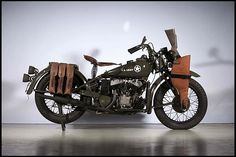 Indian 1942 military - The Indian model 741 was a military motorcycle built for use in World War II. The 741 used Indian's conventional V-twin. The 741 featured a 30.5ci flathead V-twin based on the civilian Thirty-fifty model. Less powerful than Harley's 45ci WLA, the 741 was used mainly by couriers and scouts, as what it lacked in performance it made up for in durability.