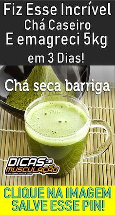 Chá Para Perder Peso Até 5 Quilos em 3 Dias! #dica #truque #beleza #dieta #emagrecer #chá #gengibre #limão #barriga #redução #emagrecimento #receitacaseiraparaemagrecer #comoemagrecerrapido #comoemagreceredesinflamaroabdomen #desinflamaroabdomen #chaparaperderbarriga #chaparaderretergordura #chaemagrecedor Green Tea Benefits, Matcha Benefits, Cleanse Recipes, Diet Recipes, Loose Weight, How To Lose Weight Fast, Dieta Atkins, Bebidas Detox, Lemon Drink