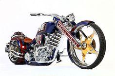 Moto :   Illustration   Description   Paul Jr. Designs (PJD) GEICO Armed Forces Bike