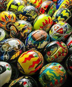 Rossi helmets!!