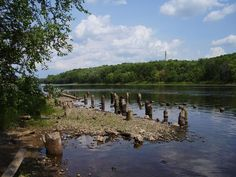 Chippewa River - Eau Claire, WI  Man, do I miss kayaking here!