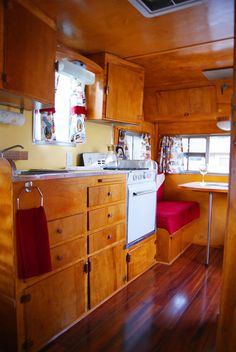 A Blog About How To Restore Vintage Canned Ham Travel Trailers Including Dalton Airstream Aloha