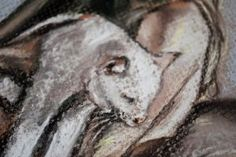 Lady with a cat detail 3 by dozhdi