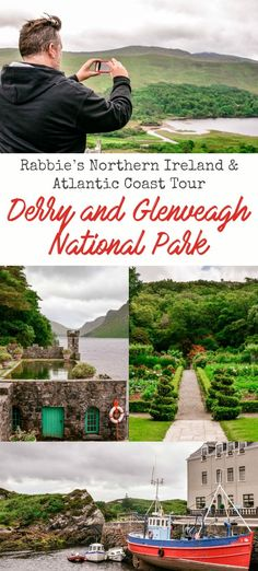 Travel Europe: Northern Ireland & Atlantic Coast Tour with Rabbie's — Derry and Glenveagh Castle