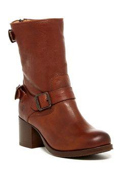 Vera Back Zip Short Boot