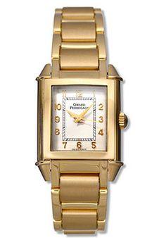 Girard-Perregaux Vintage 1945 Women's Manual 18K Yellow Gold Silver Dial ○ #vintage #watches Girard Perregaux, Trendy Jewelry, Square Watch, Vintage Watches, Chronograph, Retro, Luxury, Manual, Silver