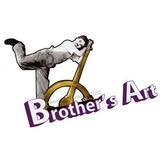 #Brother's #Art  logo with #Charlie Chaplin official website: http://brothersart.it/index.html