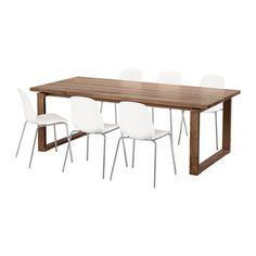 Dining room   IKEA - MÖRBYLÅNGA / LEIFARNE, Table and 6 chairs