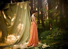 She made her camp in the woods, but even the trees could not conceal her, they could not contain her..