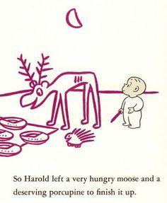 Harold and the purple crayon |