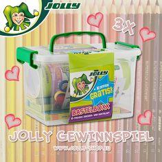 Der Februar und die Ferien neigen sich bald dem Ende zu. Wir wollen euch noch einmal eine Freude machen und verlosen unsere tolle Jolly Bastelboxx. In unserer Bastelboxx findet ihr alles um eure kreativen Ideen um zu setzen: 6 X-BIG Buntstifte 12 Superstars Duo Filzstifte 10 Painty Ölkreiden 1 Pastell Zeichenblock Uhu Stick und Schere Sowie coole Jolly Sticker 3 glückliche Gewinner können unsere Jolly Bastelboxx gewinnen. Die Gewinnchancen können durch das Einladen von Freunden erhöht…