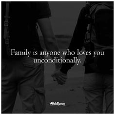 Family loves unconditionally