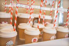 Hot Cocoa Bar Party #hotcocoa #party