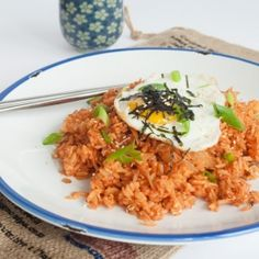 Kimchi Fried Rice. Easy and ready in 20 minutes.