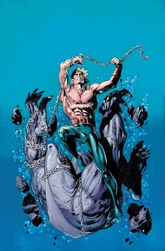 "#Aquaman #Fan #Art. (AQUAMAN: SWORD OF ATLANTIS #46) By: Jackson ""Butch"" Guice. (THE * 5 * STÅR * ÅWARD * OF: * AW YEAH, IT'S MAJOR ÅWESOMENESS!!!™)[THANK U 4 PINNING!!!<·><]<©>ÅÅÅ+(OB4E)"