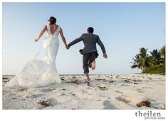 Are you planning your wedding? Want to get married somewhere exotic and breathtakingly beautiful? We can make all your destination wedding dreams come true here at Hatchet Caye! Our dining are can be arranged to seat your full party, the entire island can be reserved for the event and the myriad of photo-ops available are endless! Here are few from our last wedding to help you fall in love with our little island.